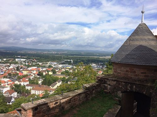 View from Nanstein Castle Landstuhl