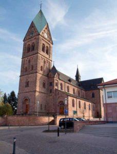 Building Catholic Chruch Sankt Nikolaus Ramstein