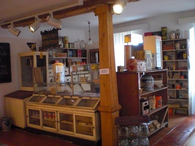 old corner store at Museum im Westrich Ramstein