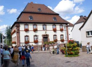 Building Historic Town Hall Museum Westrich Ramstein